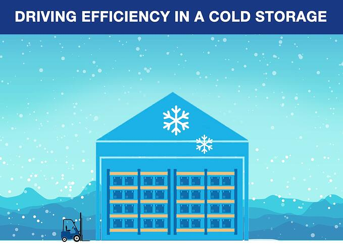 Driving Efficiency in a Cold Storage